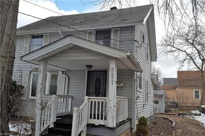 Cleveland Single Family Home For Sale: 3877 West 143rd St