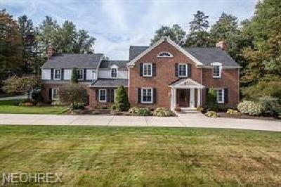 Geauga County Single Family Home For Sale: 7637 Chagrin Rd