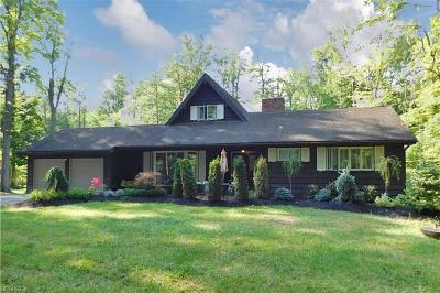 Chagrin Falls Single Family Home For Sale: 8693 East Craig Dr
