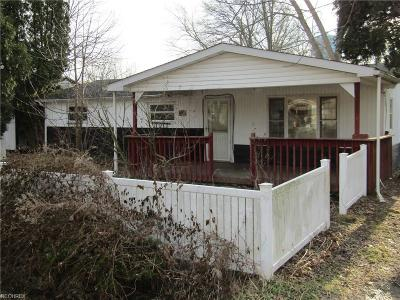 Lake Milton Single Family Home For Sale: 1586 Warchester Ave