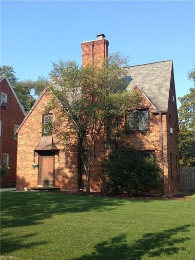 Cuyahoga County Single Family Home For Sale: 3670 Townley Rd