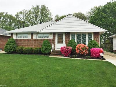 Wickliffe Single Family Home For Sale: 919 Elmwood Ave