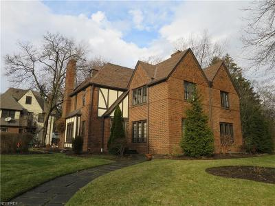 Shaker Heights Single Family Home For Sale: 3365 Ardmore Rd