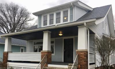 Single Family Home For Sale: 3834 West 162nd St