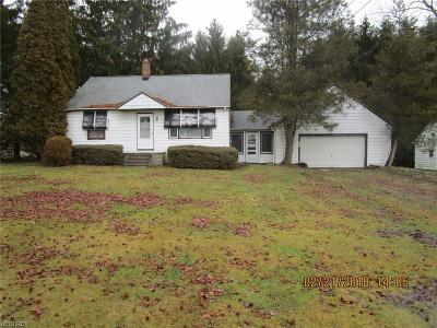 Ashtabula County Single Family Home For Sale: 4861 Us Route 6