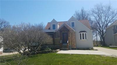Wickliffe Single Family Home For Sale: 2985 Bishop Rd