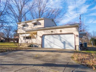 Youngstown Single Family Home For Sale: 4640 Kirk Rd