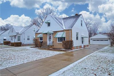 Willowick Single Family Home For Sale: 30319 Mildred Dr