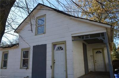 Cleveland Single Family Home For Sale: 4092 East 79th St