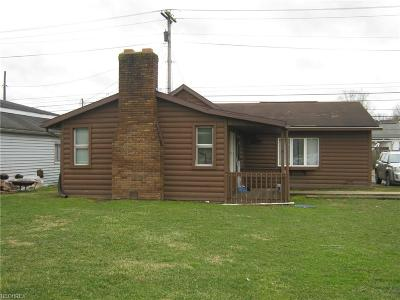 Zanesville Single Family Home For Sale: 2070 Licking Rd