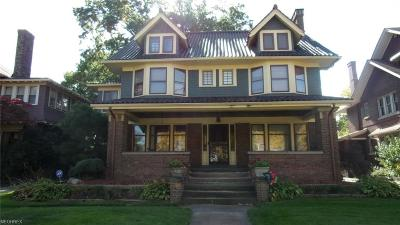 Cleveland Single Family Home For Sale: 11022 Wade Park Ave
