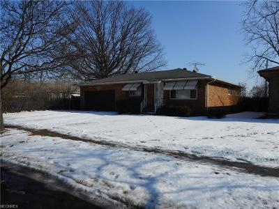 Cleveland Single Family Home For Sale: 4461 West 144th St