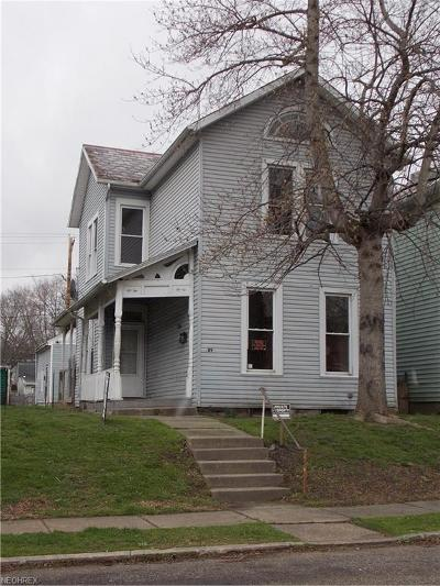 Zanesville Multi Family Home For Sale: 409-4091/2 Mead St