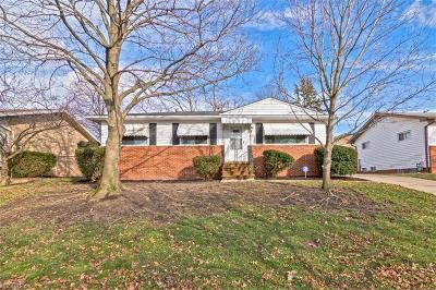 Garfield Heights Single Family Home For Sale: 4855 Donovan Dr