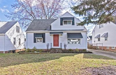 Garfield Heights Single Family Home For Sale: 13874 Shady Oak Blvd