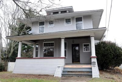 Guernsey County Single Family Home For Sale: 1511 Clairmont Ave