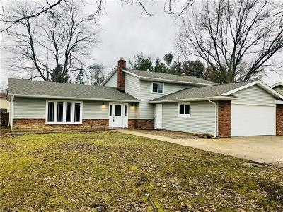Cuyahoga County Single Family Home For Sale: 15960 Howe Rd