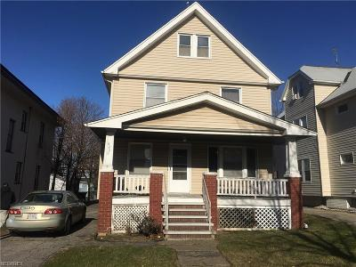 Cleveland Multi Family Home For Sale: 8209 Rosewood Ave