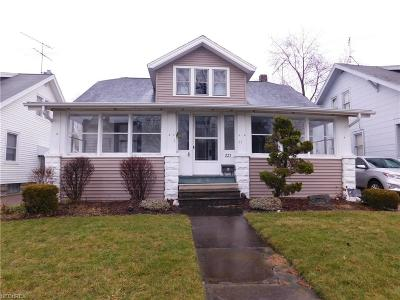 Elyria Single Family Home For Sale: 227 Harwood St