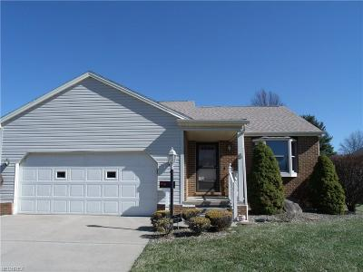 Canfield OH Single Family Home For Sale: $129,900
