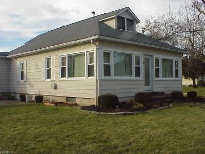 Chippewa Lake Single Family Home For Sale: 494 Shorefield Dr