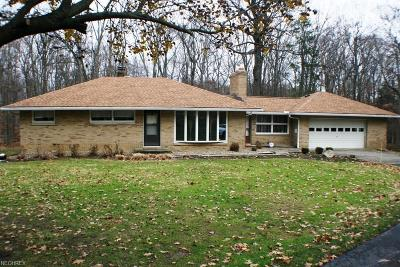 Brecksville Single Family Home For Sale: 10233 Barr Rd
