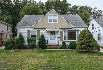 Willowick Single Family Home For Sale: 28422 Forest Rd