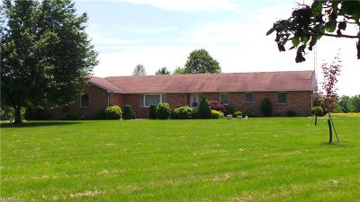 Guernsey County Single Family Home For Sale: 5850 Simmons Rd