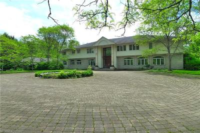 Hunting Valley Single Family Home For Sale: 34800 Cedar Rd