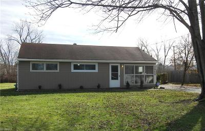 Twinsburg Single Family Home For Sale: 1860 Edgewood Dr
