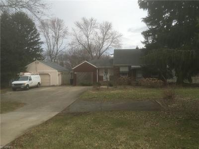 Poland Single Family Home For Sale: 8379 Youngstown Pittsburgh Rd