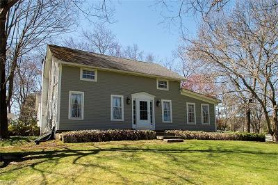 Summit County Single Family Home For Sale: 3394 West Bath Rd