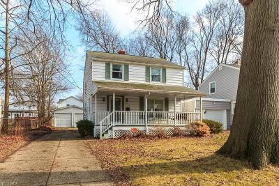 Willoughby Single Family Home For Sale: 4269 Hughes Ave