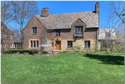 Shaker Heights Single Family Home For Sale: 2891 Winthrop Rd