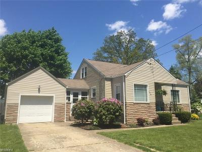Struthers Single Family Home For Sale: 175 Omar St