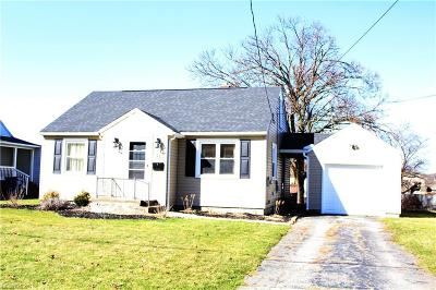 Struthers Single Family Home For Sale: 35 Grimm Heights Ave
