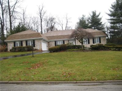 Canfield Single Family Home For Sale: 3686 Barber Dr
