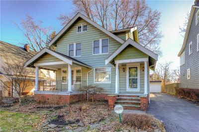 Cleveland Heights Single Family Home For Sale: 3996 Rosemond Rd