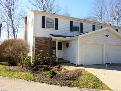 Chagrin Falls Condo/Townhouse For Sale: 38 East Carriage Dr #38
