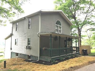Guernsey County Single Family Home For Sale: 7642 Pigeon Gap Rd