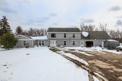 Lake County Single Family Home For Sale: 4860 River Rd
