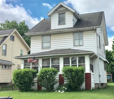 Girard OH Single Family Home For Sale: $63,900