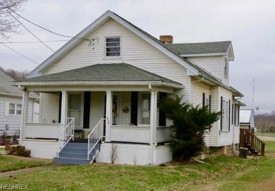 Duncan Falls OH Single Family Home For Sale: $1,000