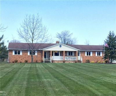 Medina Single Family Home For Sale: 5265 Baker Rd