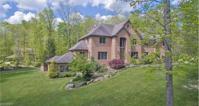 Geauga County Single Family Home For Sale: 12805 Greystone Dr