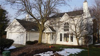 Strongsville Single Family Home For Sale: 17825 High Point Club Blvd