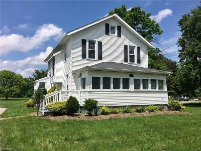 Kinsman OH Single Family Home For Sale: $119,000