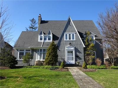 Shaker Heights Single Family Home For Sale: 2946 Manchester Rd