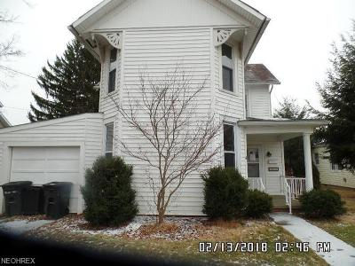 Muskingum County Single Family Home For Sale: 47 North 4th St