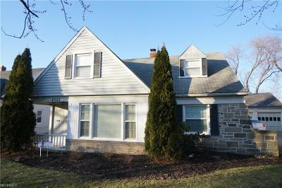 South Euclid Single Family Home For Sale: 4025 Eastway Rd
